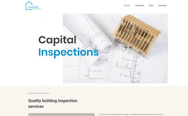 website portfolio capital inspection