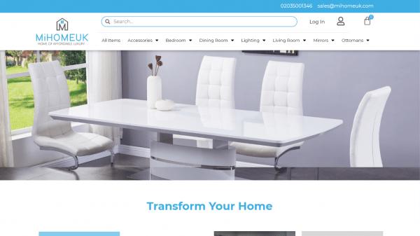 website portfolio mihomeuk